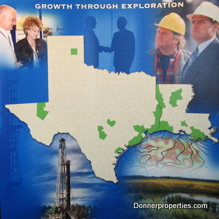 oil and gas leasing properties in Louisiana and Texas